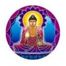 Fensterbild Buddha Light