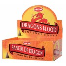 HEM Dragon Blood Räucherkegel