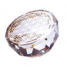 Blume des Lebens - Kristallobjekt, klein