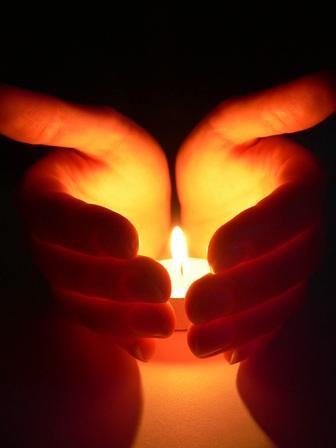Flamme der Liebe