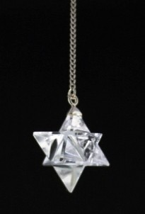 Merkaba-Bergkristall-Pendel