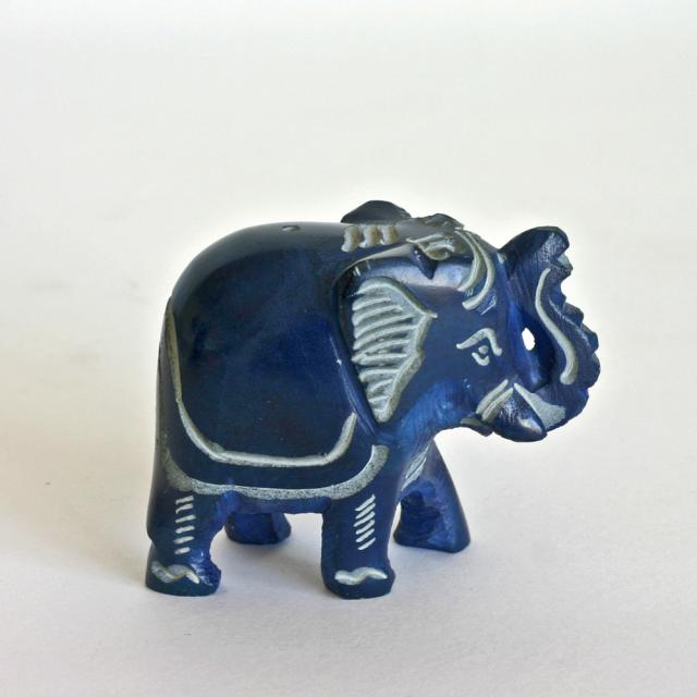 Räucherstäbchen-Halter Elefant Fair Trade