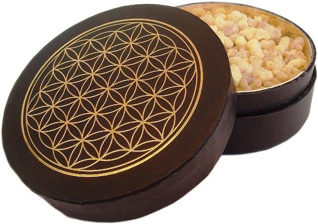 Weihrauchbox - Sorte Indien