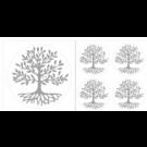 Baum des Lebens Aufkleber Set