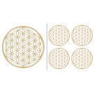 BdL Aufkleber-Set abriebfest gold