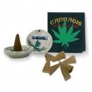 Cannabis Räucherkegel