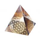 Blume des Lebens Pyramide