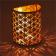 Lebensblume Teelichthalter mit Spiegel