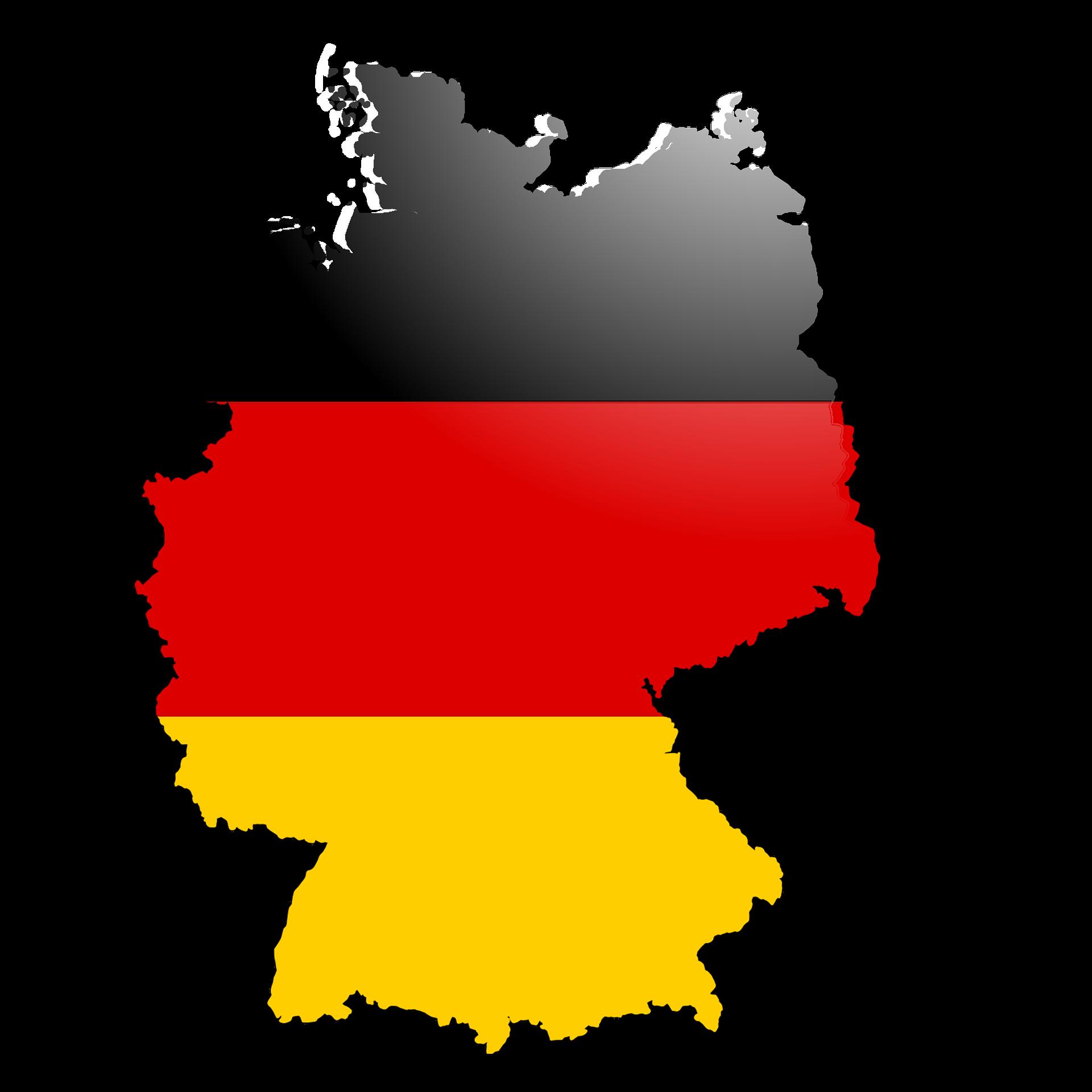 Deutschland Umriss